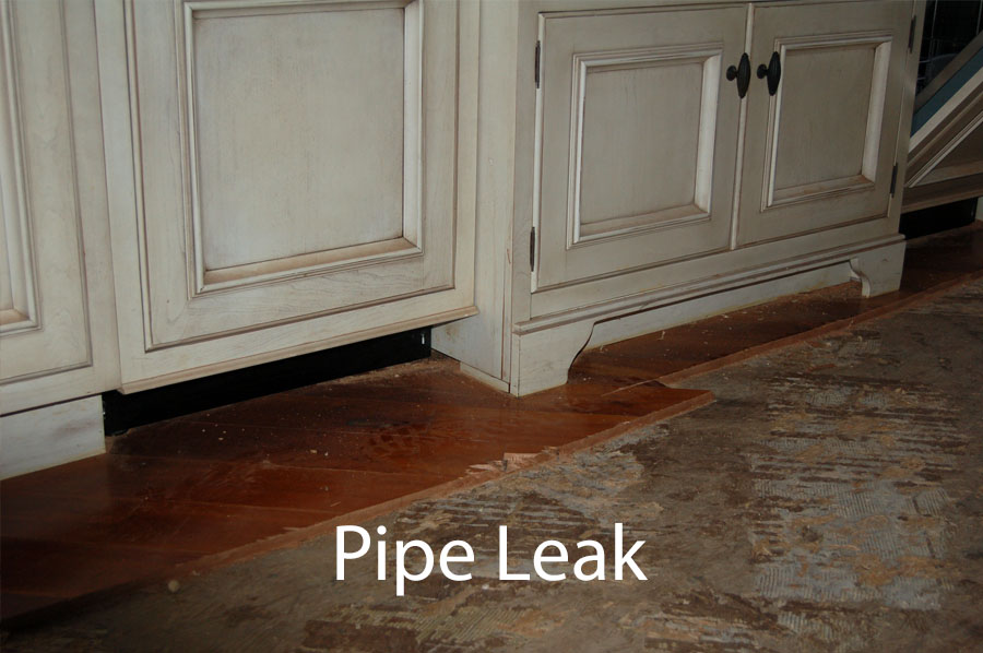pipe leak damage claims